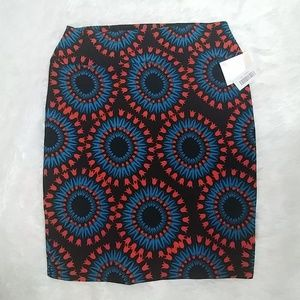 NWT LULAROE CASSIE Stretch PENCIL Skirt 2XL
